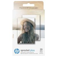 "HP Sprocket Plus Photo Paper, 2.3"" x 3.4"", 20 sheets"
