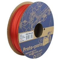 Proto-Pasta 1.75mm Glitter Stardust Candy Apple Red HTPLA 3D Printer Filament - 0.5kg Spool (1.1 lbs)