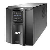 APC SMT1500R Factory Recertified 750 VA 500W 6 Outlet UPS w/ LCD Display