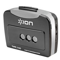 ION Audio Tape 2 Go Digital Conversion Cassette Player