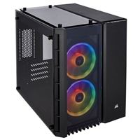 Corsair Crystal 280X RGB Tempered Glass microATX Mini-Tower Computer Case