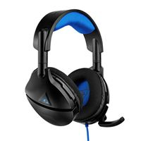 Turtle Beach Stealth 300 Wired PlayStation 4 Gaming Headset - Black/Blue (PS4)