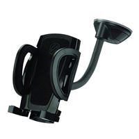 Scosche Industries stuckUP Grip Clip Suction Phone Mount - Black