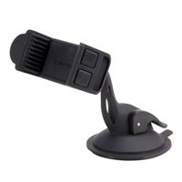 Scosche Industries DashMount Grip Clip Suction Dashboard/ Windshield Phone Mount - Black