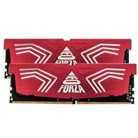 GoldKey Technology Neo Forza Faye 16GB 2 x 8GB DDR4-2400 PC4-19200 CL17 Dual Channel Desktop Memory Kit - Red