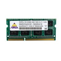 Neo Forza 4GB DDR3L-1600 PC3-12800 CL11 Single Channel SO-DIMM Memory...