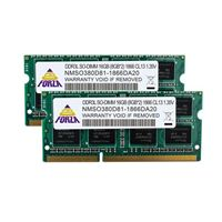 Neo Forza Neo Forza 16GB 2 x 8GB DDR3L-1866 PC3L-14900 CL13 Dual Channel SO-DIMM Memory Kit