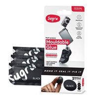 Sugru Mouldable Glue - Original Formula 3 pack - Black