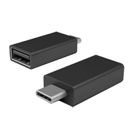 Microsoft USB 3.1 (Gen 1 Type-C) to USB 3.1 (Gen 1 Type-A) Adapter - Black