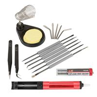 Performance Tools Soldering Accessory Kit, 17 Pieces