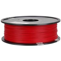 Inland Premium 1.75mm True Red PLA+ 3D Printer Filament - 1kg Spool (2.2 lbs)