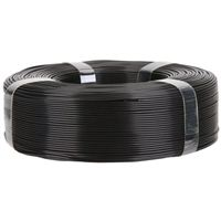 Inland 1.75mm Black PLA+ 3D Printer Filament - Spooless
