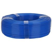 Inland Premium 1.75mm Spooless Blue PLA+ 3D Printer Filament - 1kg Spool (2.2 lbs)