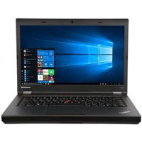 "Lenovo ThinkPad T440P 14"" Laptop Computer Refurbished - Black"