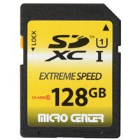 Micro Center 128GB SDXC Class 10/ UHS-1 Flash Memory Card