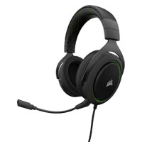 Corsair HS50 - Stereo Gaming Headset - Discord Certified Headphones - Designed to Work with Xbox One - Green