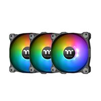 Thermaltake Pure Plus 12 RGB Hydraulic Bearing 120mm Case Fan - Triple Pack