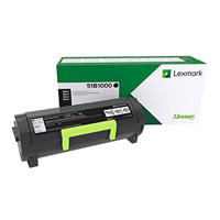 Lexmark 51B1000 Black Toner Cartridge