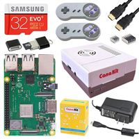 CanaKit Retro Gaming Kit for Raspberry Pi 3 Model B+ - 32GB EVO Edition