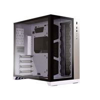 Lian Li PC-O11 Dynamic Tempered Glass ATX Mid-Tower Computer Case - White
