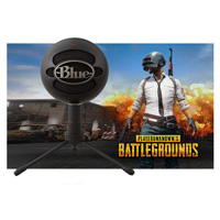 Blue Microphones Snowball Black iCE Player Unknown's Battlegrounds Bundle