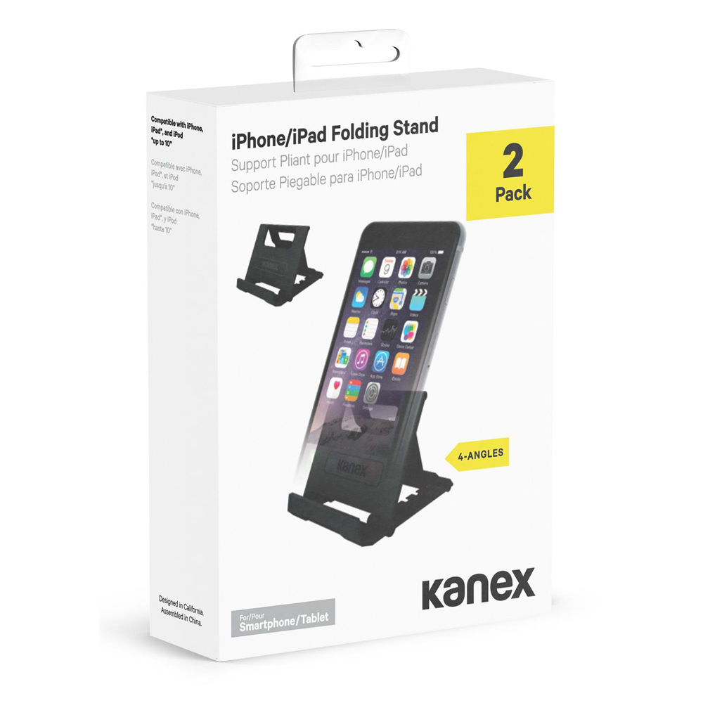 Kanex Foldable Stand (2 Pack) - Black