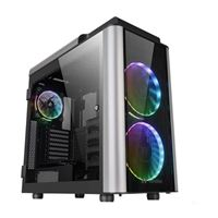 Thermaltake Level 20 GT RGB Plus Tempered Glass eATX Full-Tower Computer Case - Black
