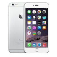 Apple iPhone 6 Plus Unlocked 4G LTE - Silver (Remanufactured) Smartphone