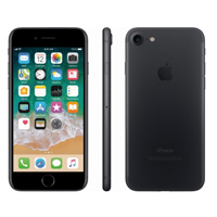 Apple iPhone 7 Unlocked 4G LTE - Black (Remanufactured) Smartphone