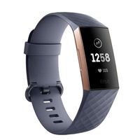 FitBit Charge 3 Fitness Tracker - Rose Gold/Blue