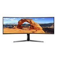 "Samsung LC43J890DKNXZA 43.4"" 4K-UXGA 120Hz HDMI DP Curved LED Monitor"