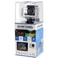 Waterproof Action Camera w/Bike & Helmet Mount