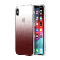 Incipio Technologies Design Series Case for iPhone XS Max - Cranberry Sparkler