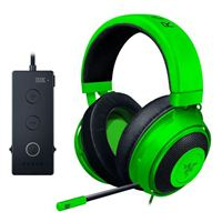 Razer Kraken Tournament Edition Wired Gaming Headset with USB Audio Controller - Green