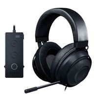 Razer Kraken Tournament Edition Wired Gaming Headset with USB Audio Controller - Black