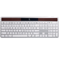 Logitech K750 Wireless Keyboard - Gray (Refurbished)