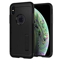 Spigen Slim Armor Case for iPhone X - Black