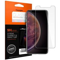 Spigen GLAS.tR SLIM HD Screen Protector for iPhone XR - Clear