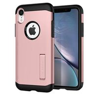 Spigen Slim Armor Case for iPhone XR - Rose Gold
