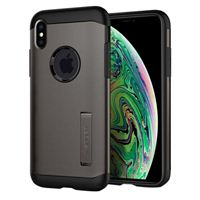 Spigen Slim Armor Case for iPhone XS Max - Gunmetal