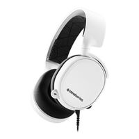 SteelSeries Arctis 3 7.1 Surround Sound Gaming Headset - White (2019 Edition)
