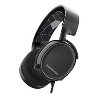SteelSeries Arctis 3 7.1 Surround Sound Gaming Headset - Black (2019 Edition)