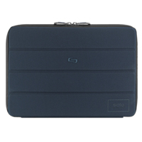 "SOLO Bond Laptop Sleeve Fits Screens up to 13"" - Blue"