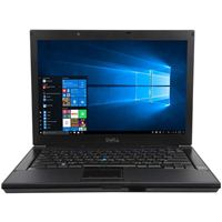 "Dell Latitude E6410 14.1"" Laptop Computer Refurbished - Black"