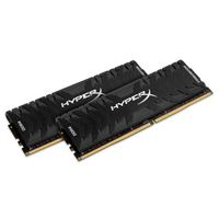 HyperX Predator 32GB 2 x 16GB DDR4-3200 PC4-25600 CL16 Dual Channel Desktop Memory Kit HX432C16PB3K2/32 - Black