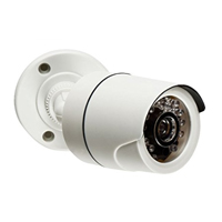 Sabre Security Fake Bullet Security Camera - White