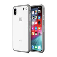 Incipio Technologies Under Armour Protect Verge Case for iPhone XS Max - Clear/ Graphite/ Gunmetal