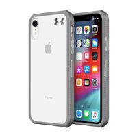 Incipio Technologies Under Armour Protect Verge Case for iPhone XR - Clear/ Graphite/ Gunmetal