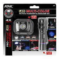 Performance Tools 2pc Flashlight & Headlamp