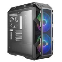 Cooler Master MasterCase H500M RGB Tempered Glass eATX Mid-Tower Computer Case - Iron Gray